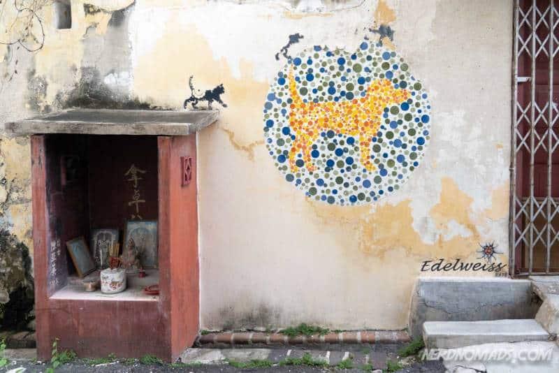 No Animal Discrimination Please mural George Town Penang