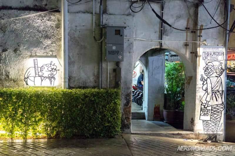 Rotan street art George Town Penang