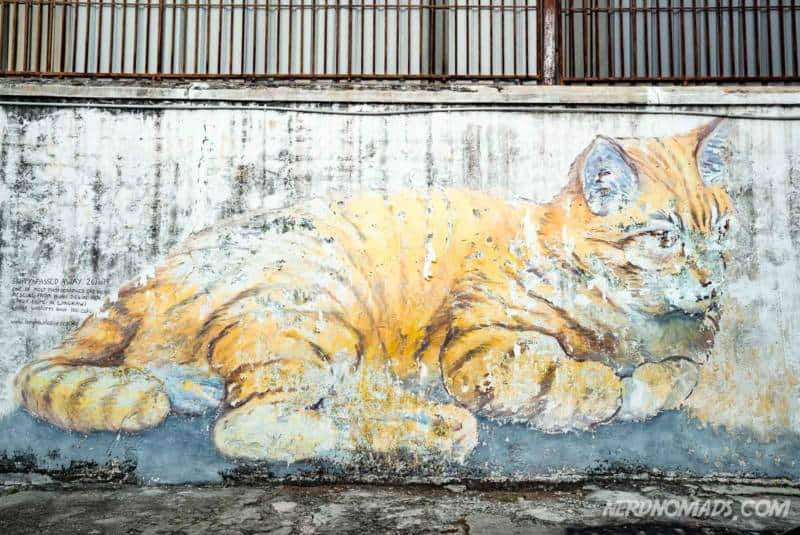 Skippy For Penang mural George Town Penang