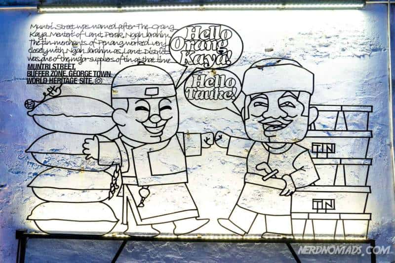 Win Win Situation street art George Town Penang
