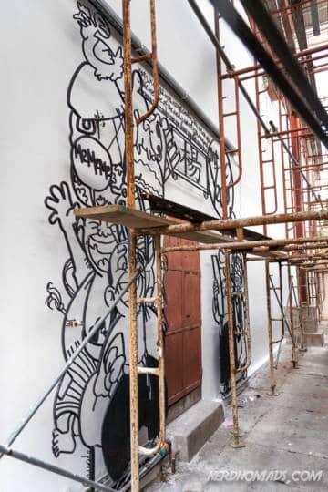 Yeah Only street art George Town Penang