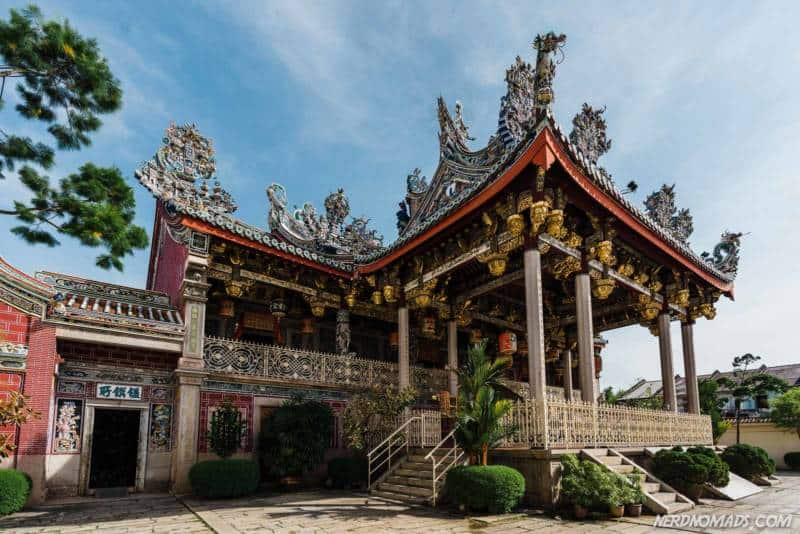 The gorgeous clan house Koo Kongsi