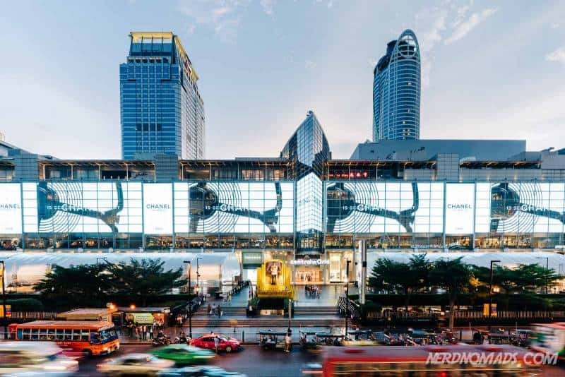 Central World is the best place to go shopping in Bangkok