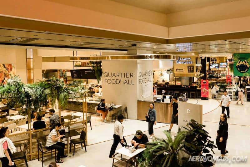 Emquartier mall has a great food court called Quartier Food Court