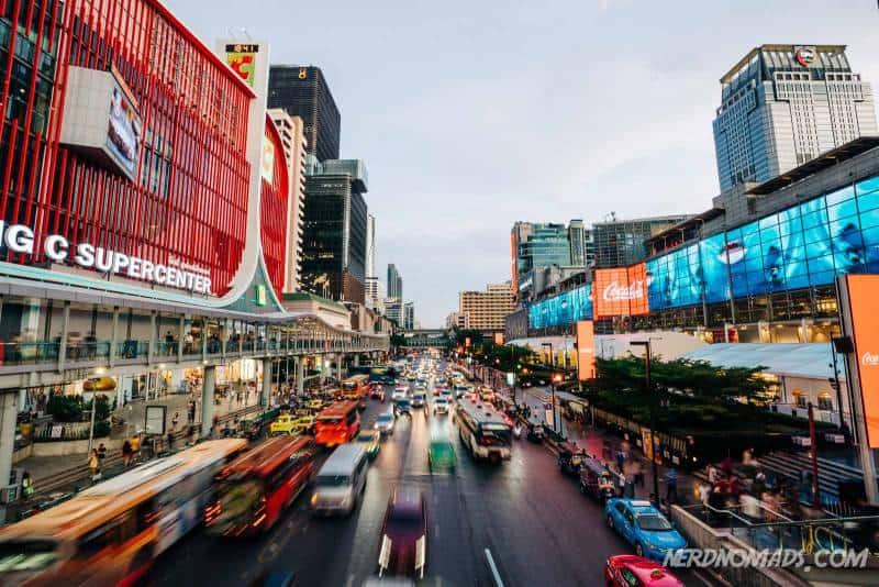 Where should I go shopping in Bangkok