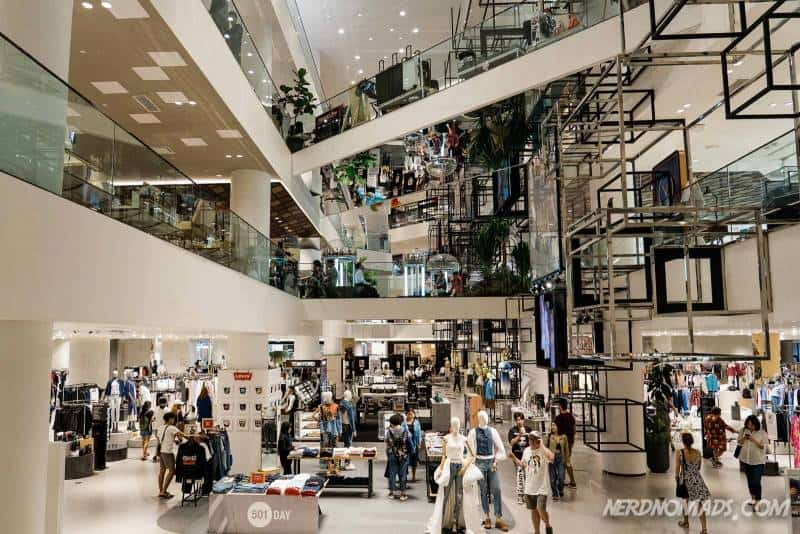 Siam Discovery mall in Bangkok has just been through a major renovation and is hipper and cooler than ever