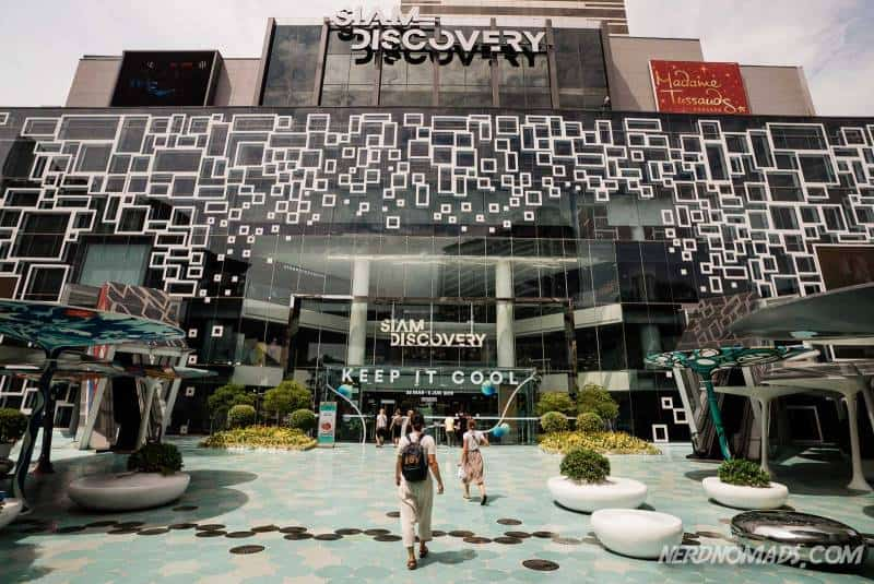 Siam Discovery shopping mall in Bangkok is one of the hippest malls in Bangkok