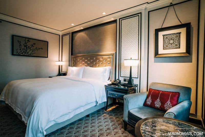 room at Atheen Hotel Bangkok