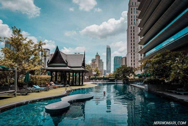 Swimming Pool at Atheen Hotel Bangkok
