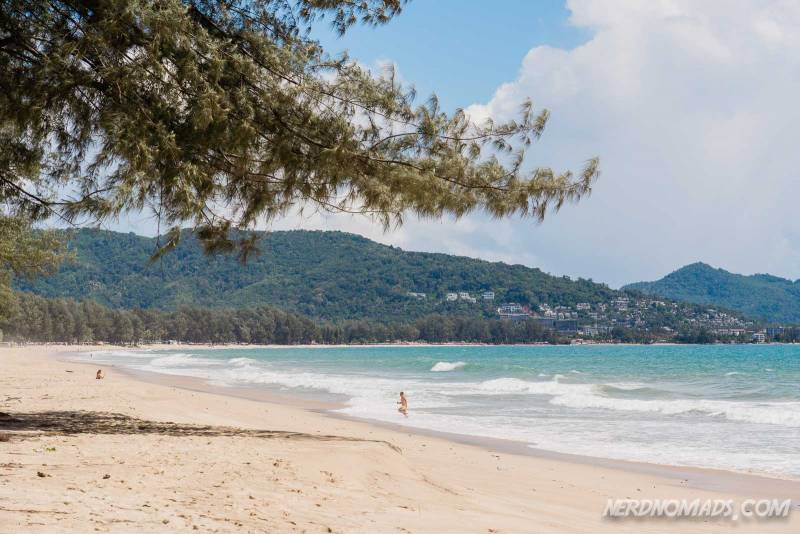 Bang Tao Beach is one of the best beaches in Phuket Thailand