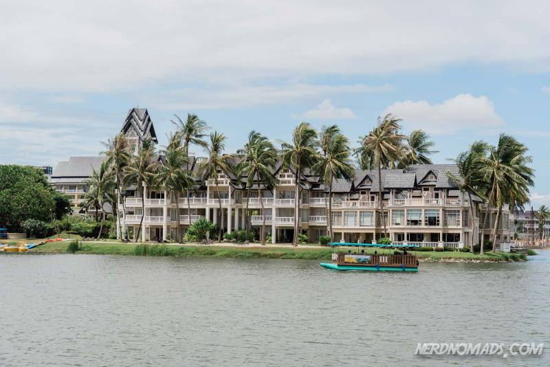 The Laguna Phuket Complex consists of seven high-end luxury hotels
