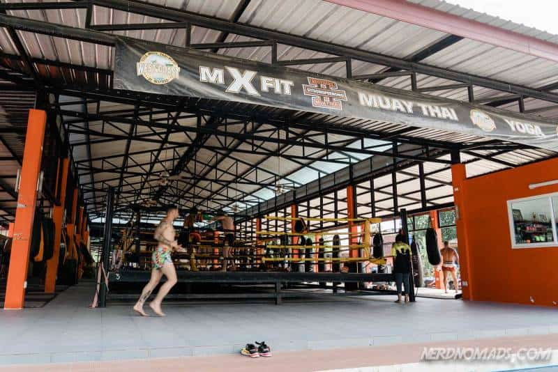 The Sitsongpeenong Muay Thai gym in Bang Tao Phuket