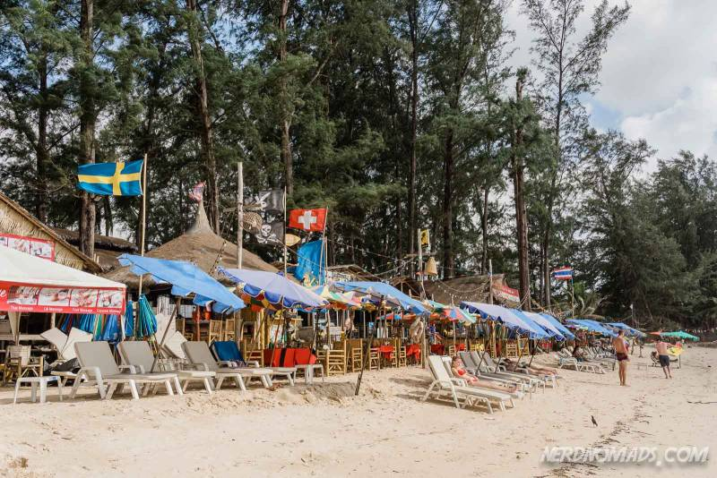 beach restaurants at Bang Tao Beach Phuket