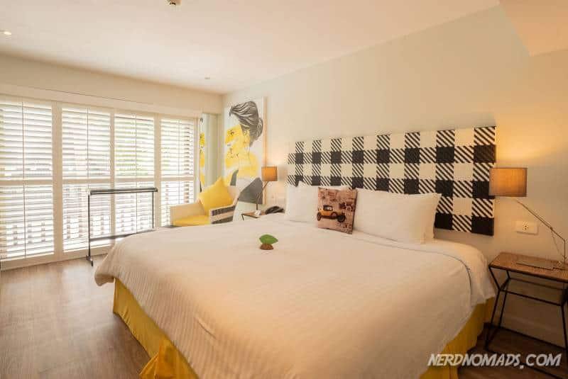 Our room at Burasari Phuket Resort & Spa