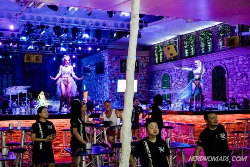 A go-go bar in Bangla Street Patong Beach Phuket