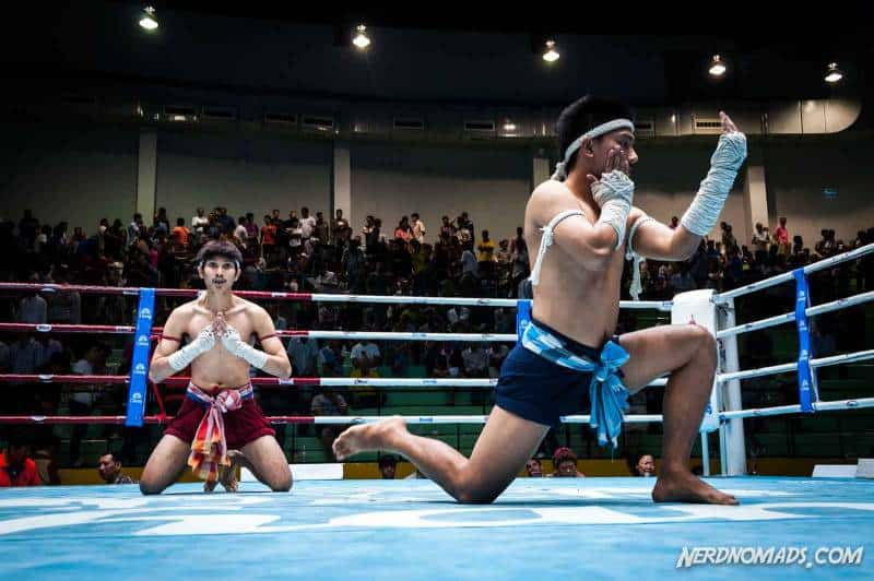 Muay Thai Boxing is the national sports of Thailand and great fun to watch