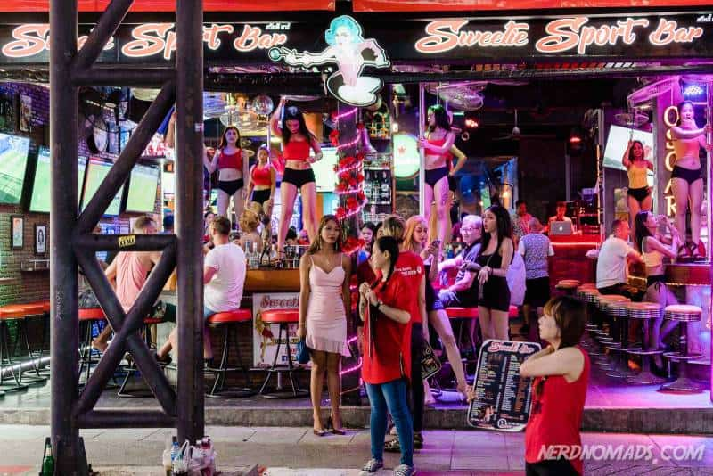 A go-go bar in Bangla Street, Patong, Phuket