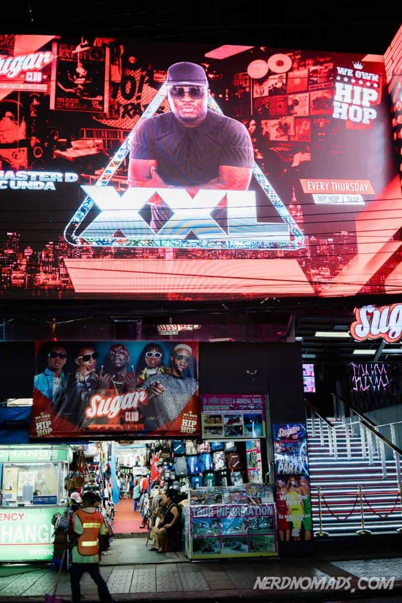 XXL disco in Bangla Street, Patong, Phuket