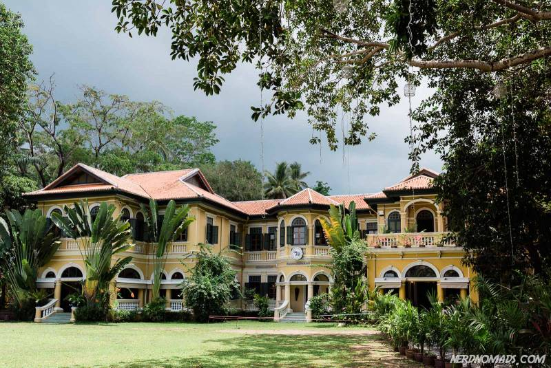 The stately Blue Elephant mansion in Phuket Town