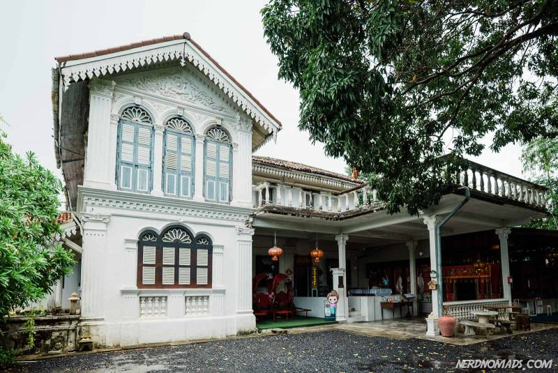 Chinapratcha House in Phuket Town built in 1903