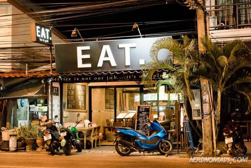 The eat restaurant in Karon Beach Phuket