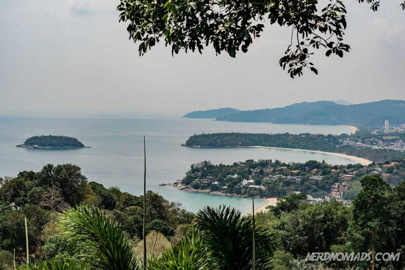 Lovely sea view from Karon Viewpoint in Phuket