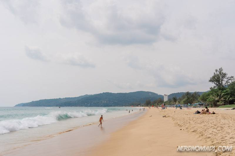 Karon Beach is Phuket's second longest beach and is almost 4 km long