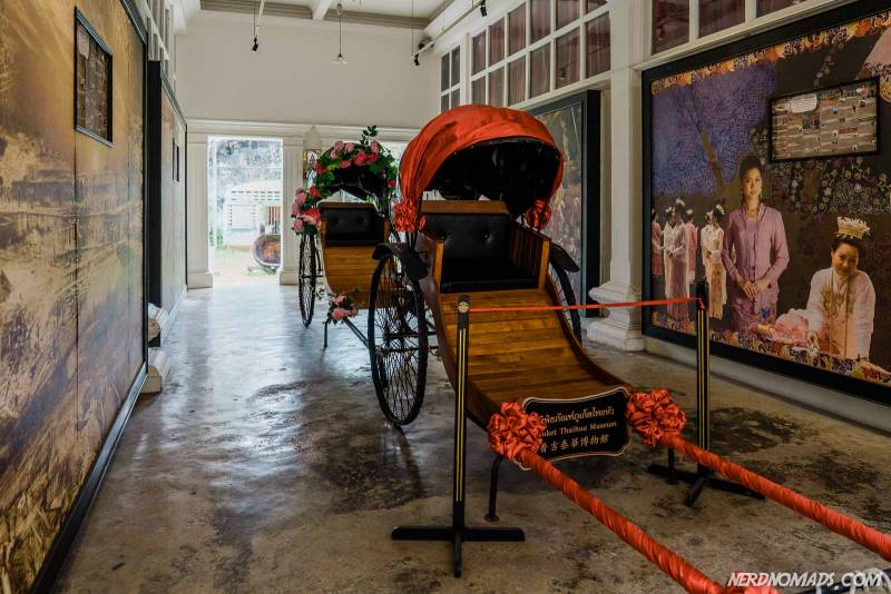Chinese carriage at theTai Hua museum