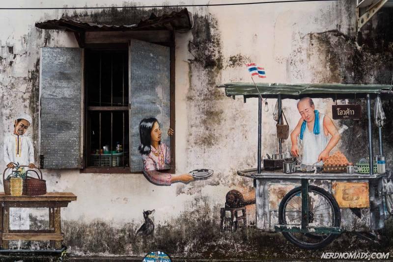 street art in Phuket Town