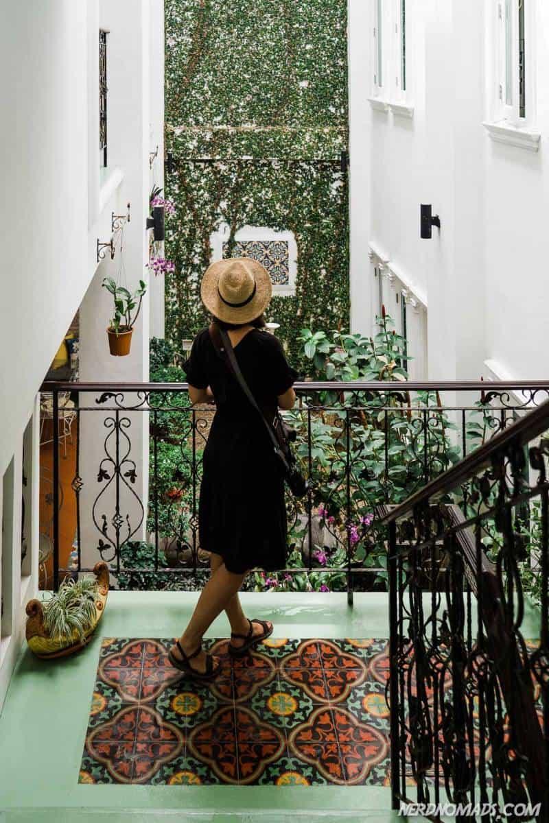 Casa Blanca hotel garden