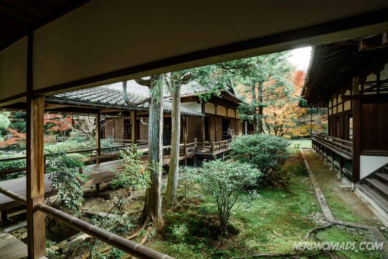 Shoren-in temple is one of the biggest temples in kyoto