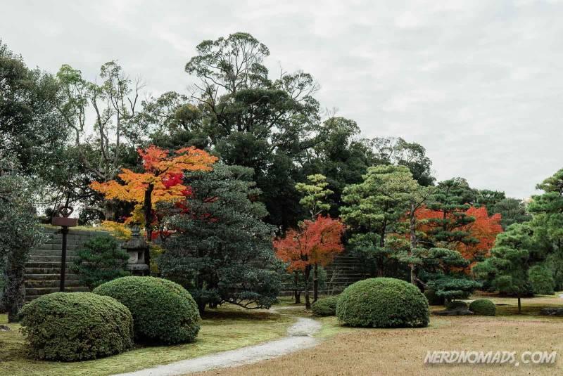 Honmaru Garden Nijo-jo Castle Kyoto