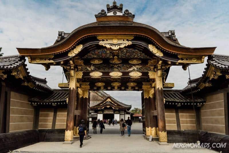 Karamon Gate at Nijo Imperial Palace, Kyoto