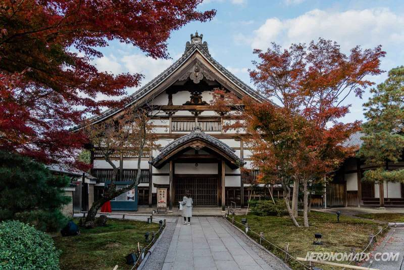 Kodaiji Temple in Kyoto, Japan