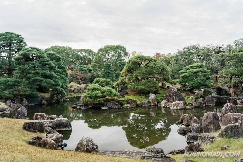 Ninomaru Garden at Nijo Castle, Kyoto