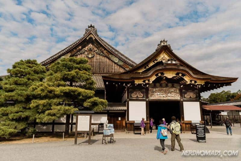 Ninomaru Palace is the main palace at Nijo Castle in Kyoto