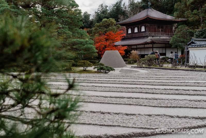 The stunning sand garden at Silver Pavilion/ Ginkakuji Temple