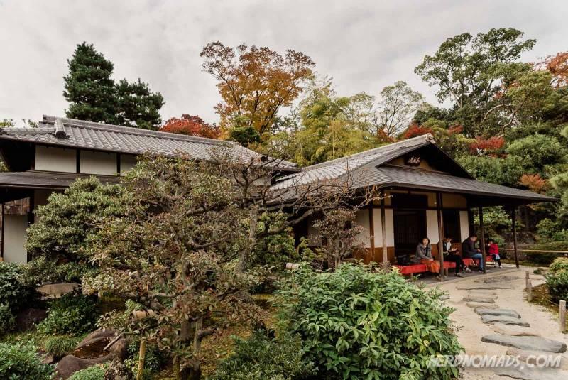Waraku-an Teahouse at Nijo Castle, Kyoto