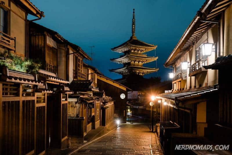 Yasaka Pagoda at Hokanji Temple in Kyoto