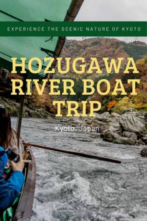 Guide to Hozugawa River Boat Ride and Sagano Romantic Train, Kyoto, Japan