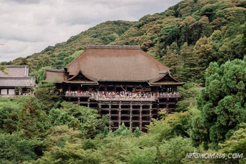 Hondo Main Hall Kiyomizu-dera Temple