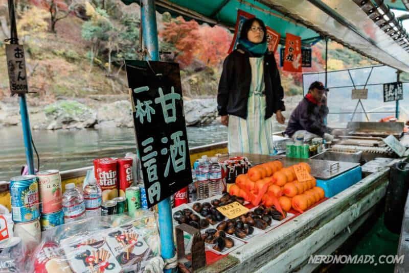 Kisok Boat Hozugawa River Boat Trip Kyoto