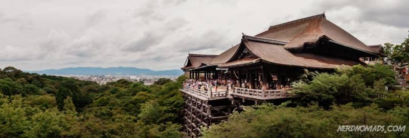 Main hall at Kiyomizu-dera Temple