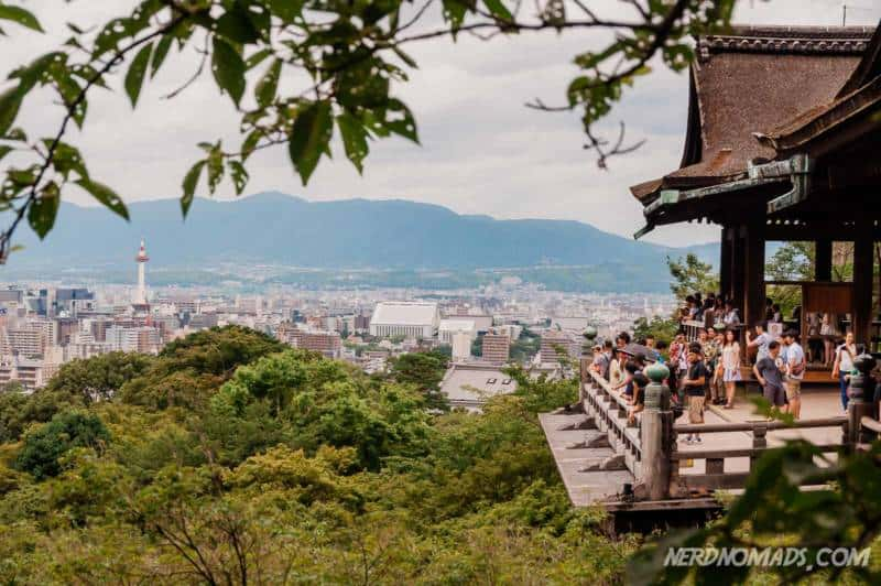 Kiyomizu Stage at Kiyomizu-dera Temple