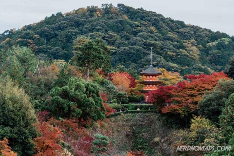 Koyasu Pagoda at Kiyomizu-dera Temple