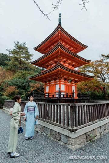 Koyasu Pagoda at Taisanji Temple