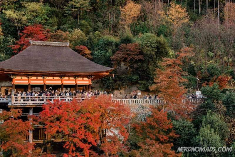 Okunoin Hall at Kiyomizudera Temple