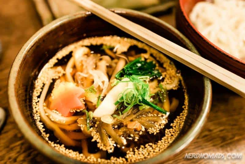 Omen Noodles restaurant in Kyoto