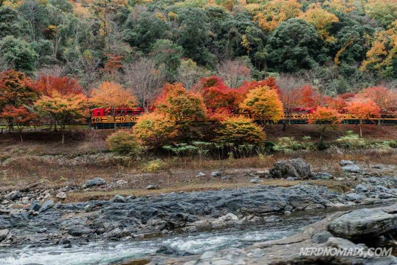 Sagano Romantic Train Hozugawa River Boat Trip Kyoto