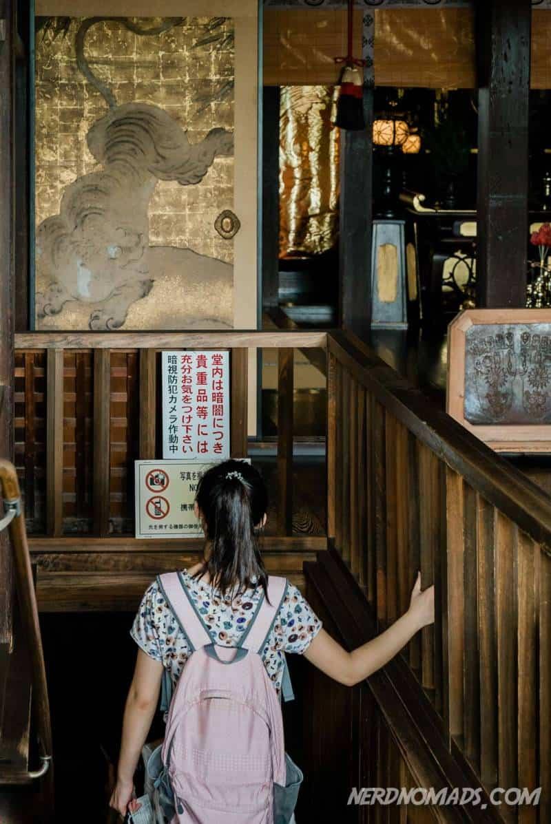 Tainai Meguri at Kiyomizu-dera Temple